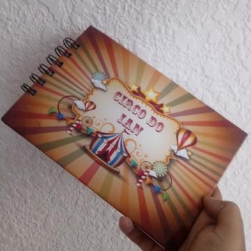 bloco lembrança festa circo