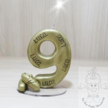 ae77128c1f Vela futebol chuteira dourada 9 anos