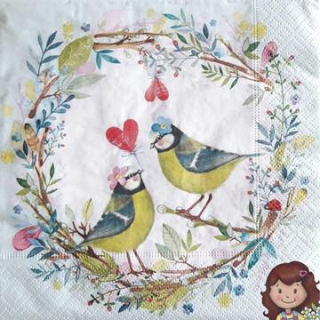 Guardanapo Bird wedding