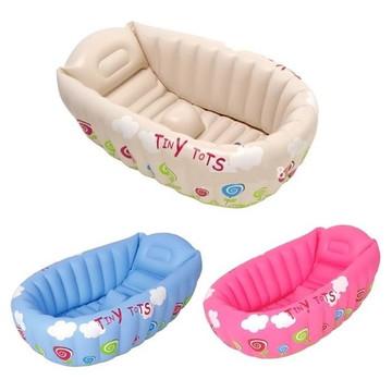 Banheira Inflável Portátil Para Bebê Tiny Tots