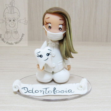Bonecos profissões Dentista odontologia