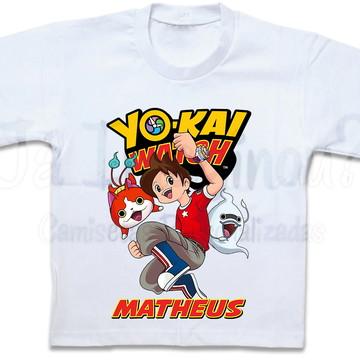 Camiseta Yo-Kai Watch