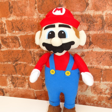 Super Mario Bros em feltro
