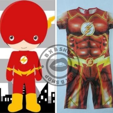 Fantasia Flash Infantil - PROMOÇÃO