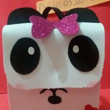 Mochila de eva panda
