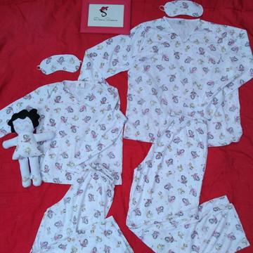 Pijama tal mãe tal filha