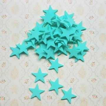 50 recortes estrelas em E.V.A - 2 CM