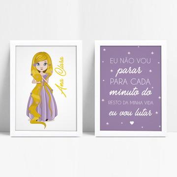 Quadrinho Rapunzel