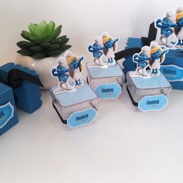 Kit lembrancinhas personalizadas smurfs