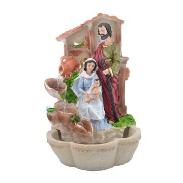 Fonte Sagrada Familia feito em Resina