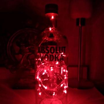 Abajur, Luminária De Garrafa Vodka Absolut