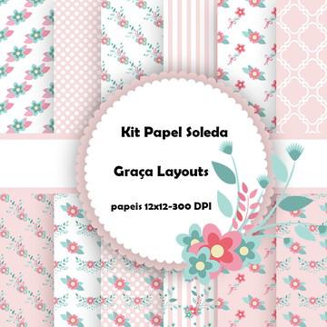 Kit papel digital Soleda