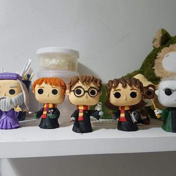 Boneco Roni + Voldemort + Dumbledore Biscuit