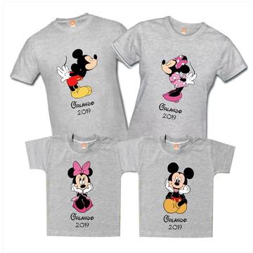 Camisetas Personalizadas Disney Familia