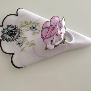 Porta guardanapos de papel tingido