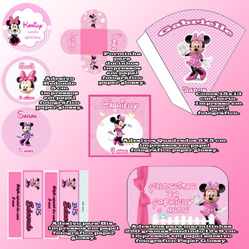 Kit Festa -Minnie