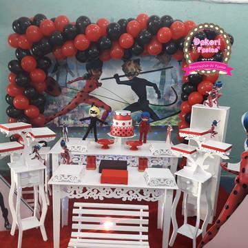 Decoração de aniversario da Ladybug