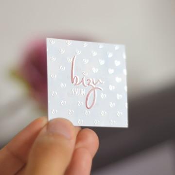 (ARTE) Cartão de Visita - UV Localizado