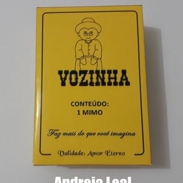 Caixa Vozinha Maizena Personalizada