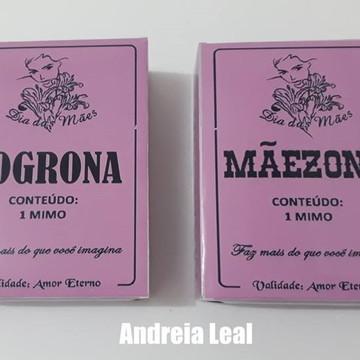 Caixa Sogrona Maizena Rosa Personalizada
