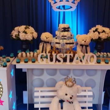 Chá de bebê decoração de Festas Tema Urso
