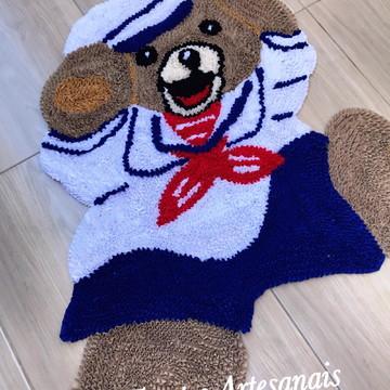 Tapete urso marinheiro Frufru anti derrapante