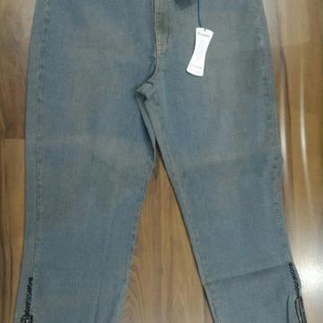 d3af4959f Calça Jeans Plus Size Customizada Nº 50
