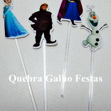 Topper doces Frozen - Pct com 10