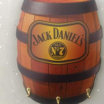 Porta chaves barril Jack Daniels