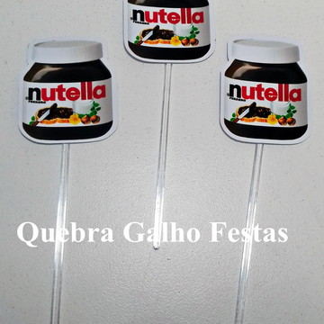 Topper doces Yutubers - Pct com 10
