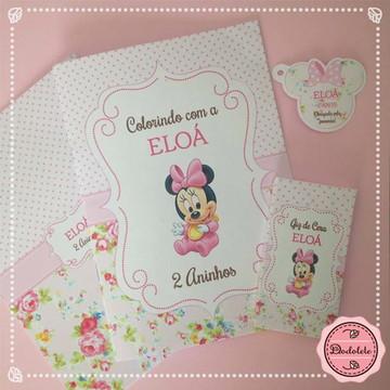 Revista Colorir Baby Minnie 2