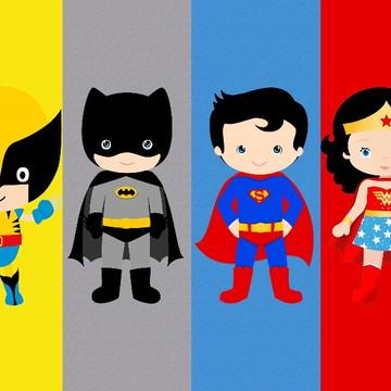 Painel de Festa Super Herois 13