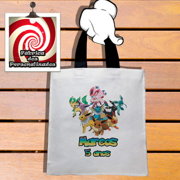 Sacolinha Tema Pokemon Neutro! Festa Infantil e Criança