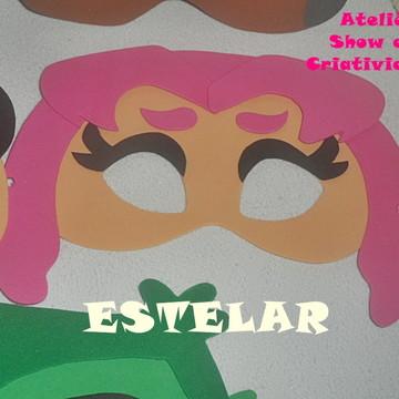 Máscara Infantil Jovens Titãs em EVA - ESTELAR