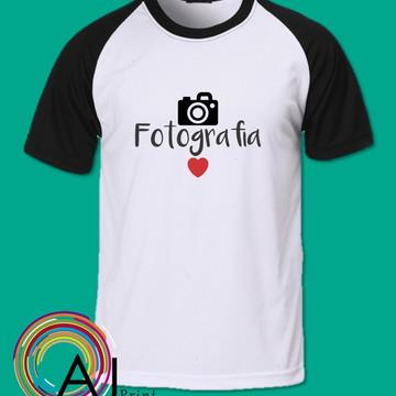 Camiseta Profissões Fotografia