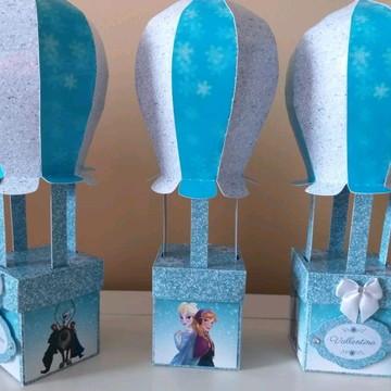 Festa Frozen-Caixinhas balão