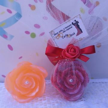 Sabonete Rosa de Marrocos Lembrancinha Casamento Bodas