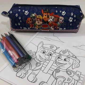 kit colorir patrulha canina