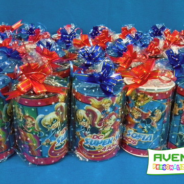 Cofrinho personalizado DC Super Hero Girls