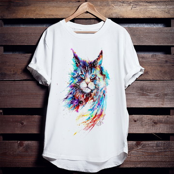 Camiseta Mystical Cat (Gato Místico)