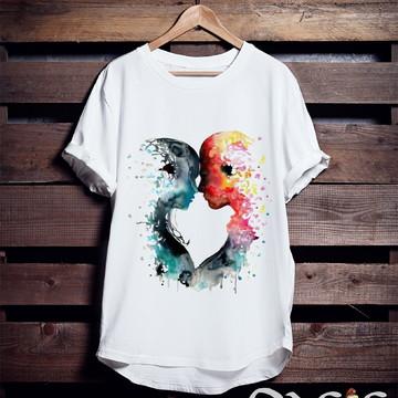 Camiseta Casal Alma Gêmea