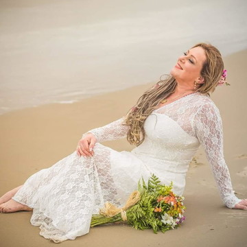 Vestido Ensaio Pre Wedding Casamento Civil Noiva Sob Medida