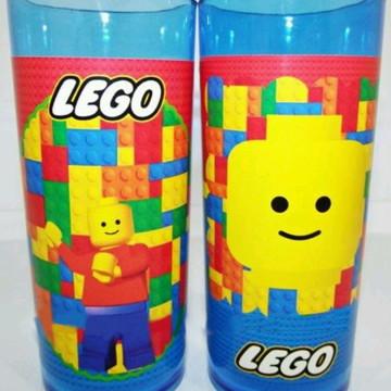 Copo Long Drink Personalizado- Tema Lego