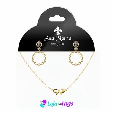 Tag Etiqueta e Cartela para bijuterias personalizado