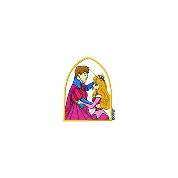 Matriz Bordado Princesa Aurora e o Príncipe Matrizes