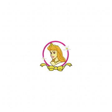 Matriz Bordado Princesa Aurora Agulha Feliz Matrizes