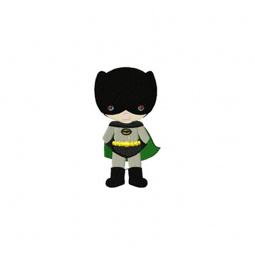 Matriz Bordado Batman Agulha Feliz Matrizes