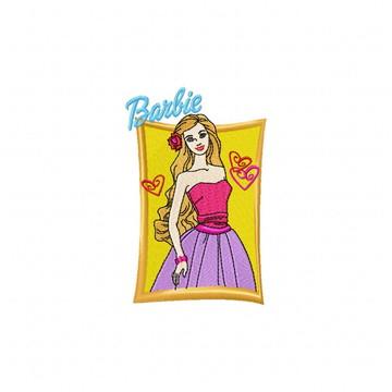 Matriz Bordado Barbie Agulha Feliz Matrizes