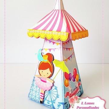 Tenda circo de menina