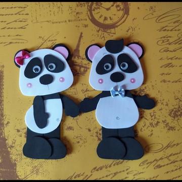Apliques Panda